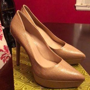 Marble Pink Gianni Bini heels